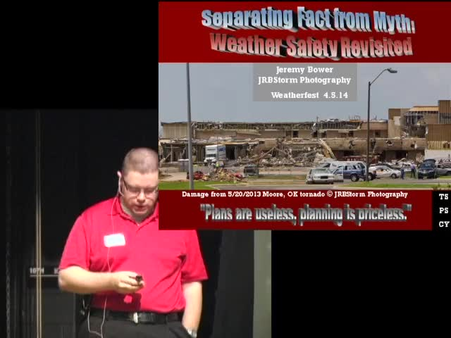 CPSWS 2014 - Separating Fact from Myth, Weather Safety Revisited