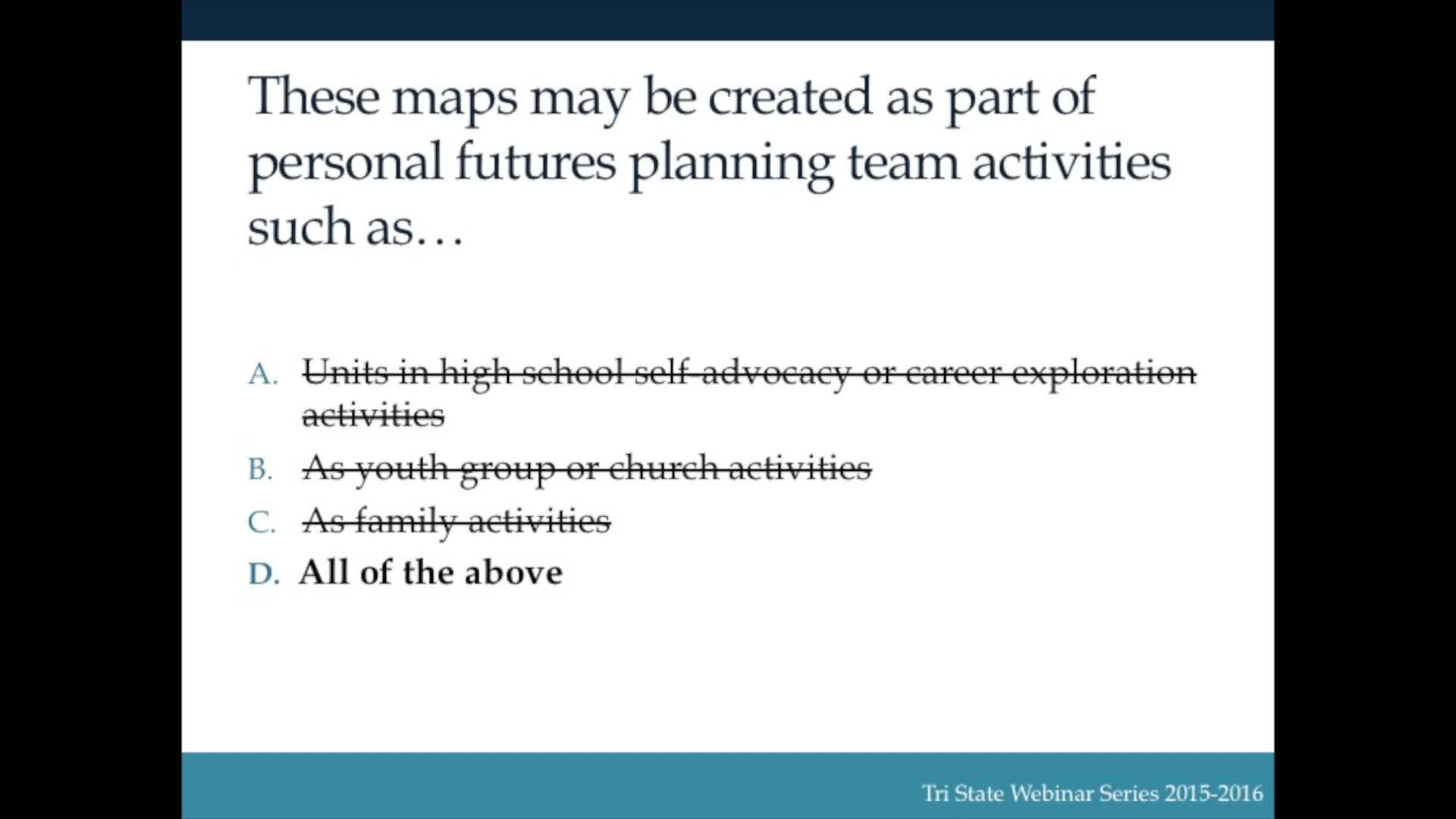 Person Centered Planning 4