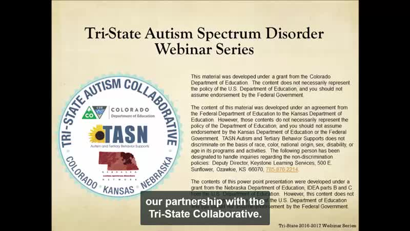 Transition Planning for Individuals with ASD: Part 2 of 4