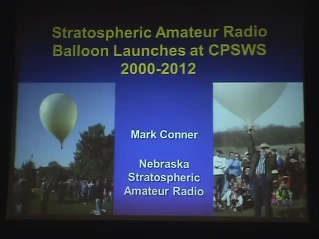CPSWS 2013 - Stratospheric Amateur Radio Balloon Launchings at CPSWS 2000-2012