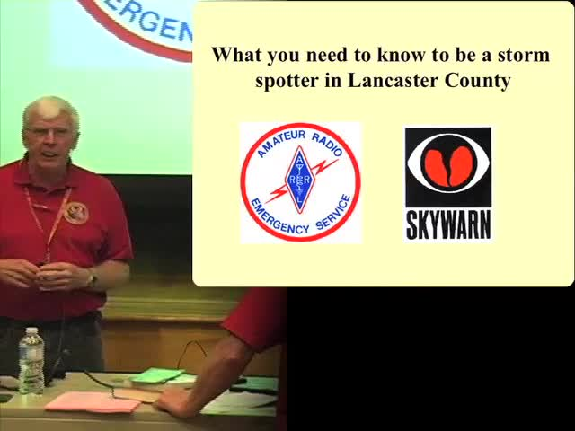 PSWS 2012 - What You Need to Know to be a Storm Spotter