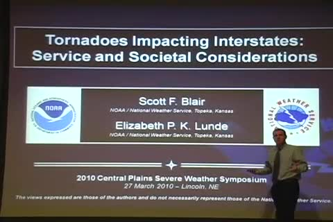 CPSWS 2010 - Tornadoes Impacting Interstates