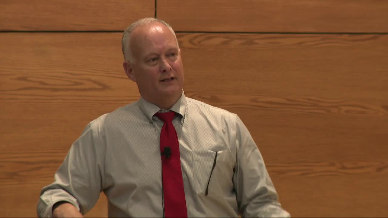 Criminal Justice Lecture--Nebraska Attorney General Doug Peterson