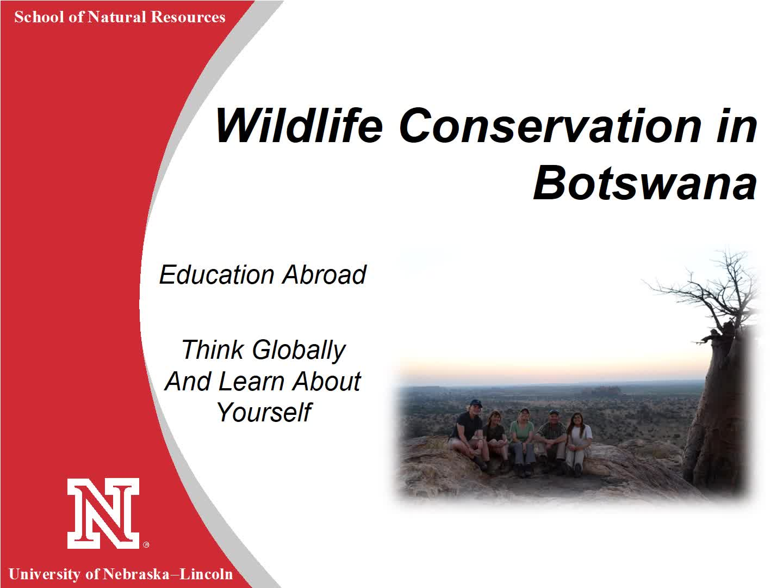Wildlife Conservation in Botswana