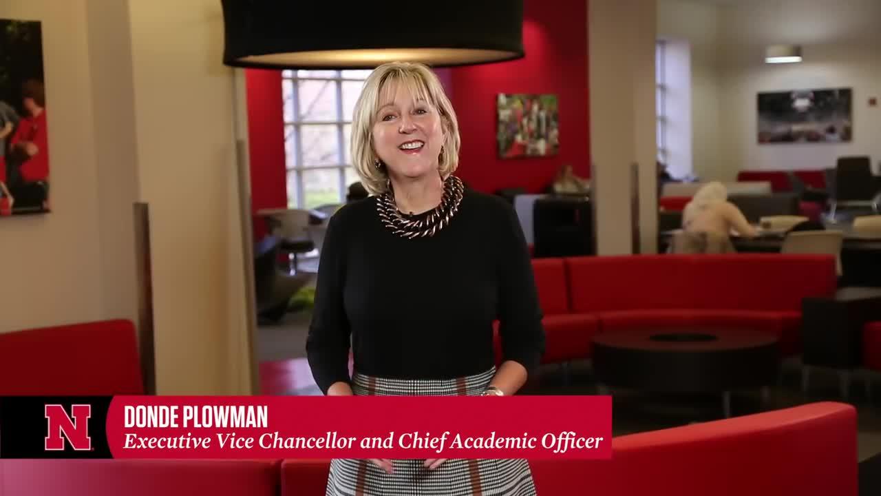 Meet the Executive Vice Chancellor