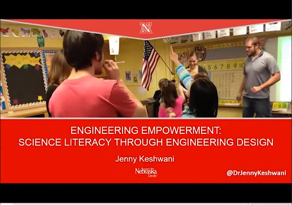 Engineering empowerment: Science literacy through engineering design