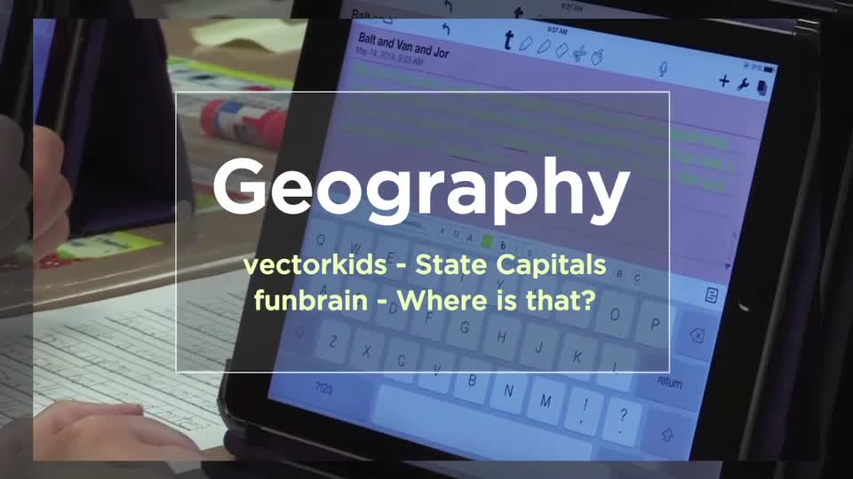 ech Edge, Mobile Learning In The Classroom - Episode 53, Geography