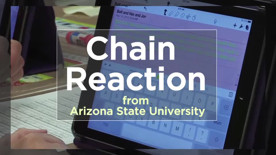 Tech Edge, Mobile Learning In The Classroom - Episode 54, Chain Reaction