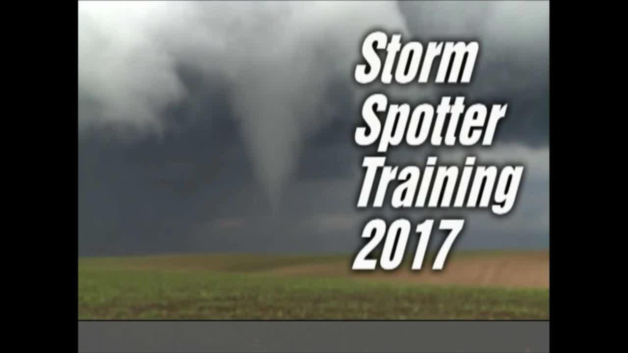 Storm Spotter Training Workshop