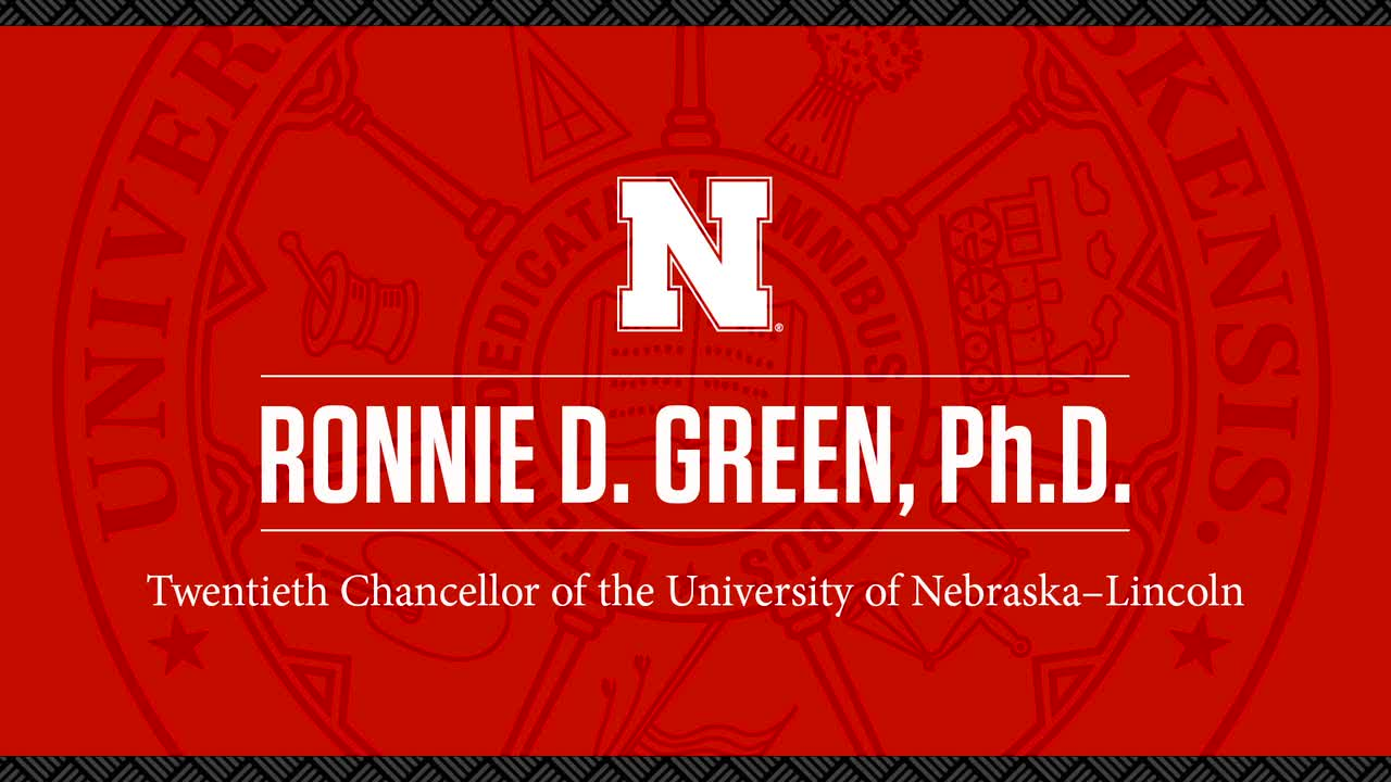 Welcoming Chancellor Ronnie Green