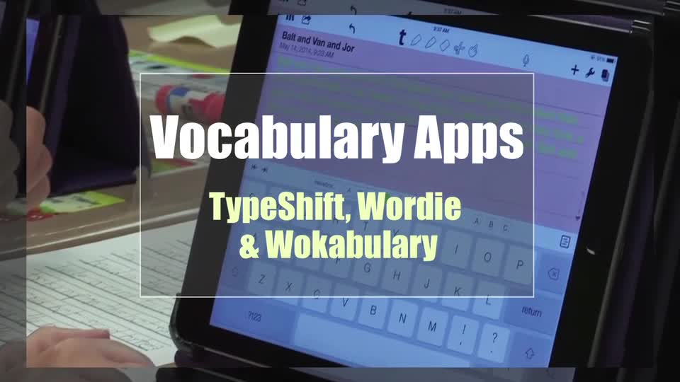 Tech Edge, Mobile Learning In The Classroom - Episode 56, Vocabulary Apps