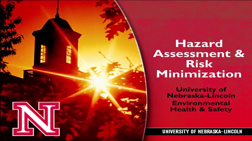 Chemical Hazard Assessment and Risk Minimization