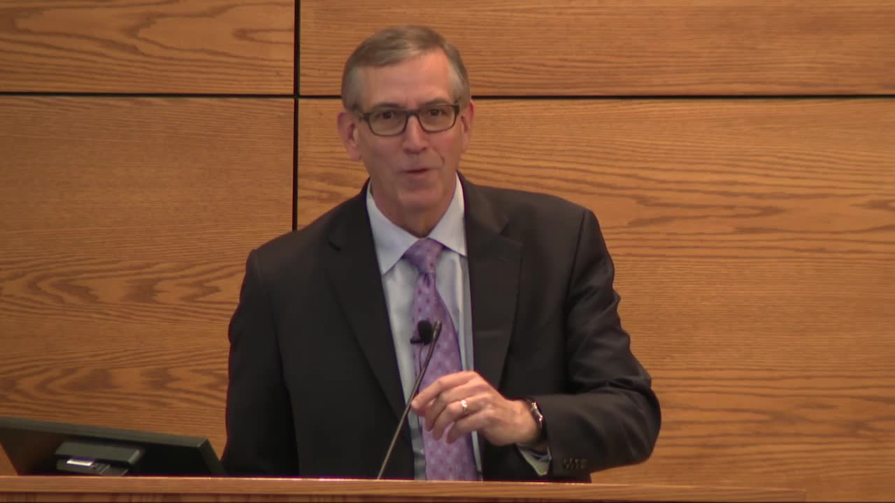 Criminal Justice Lecture--John Gerrard, U.S. District Court Judge