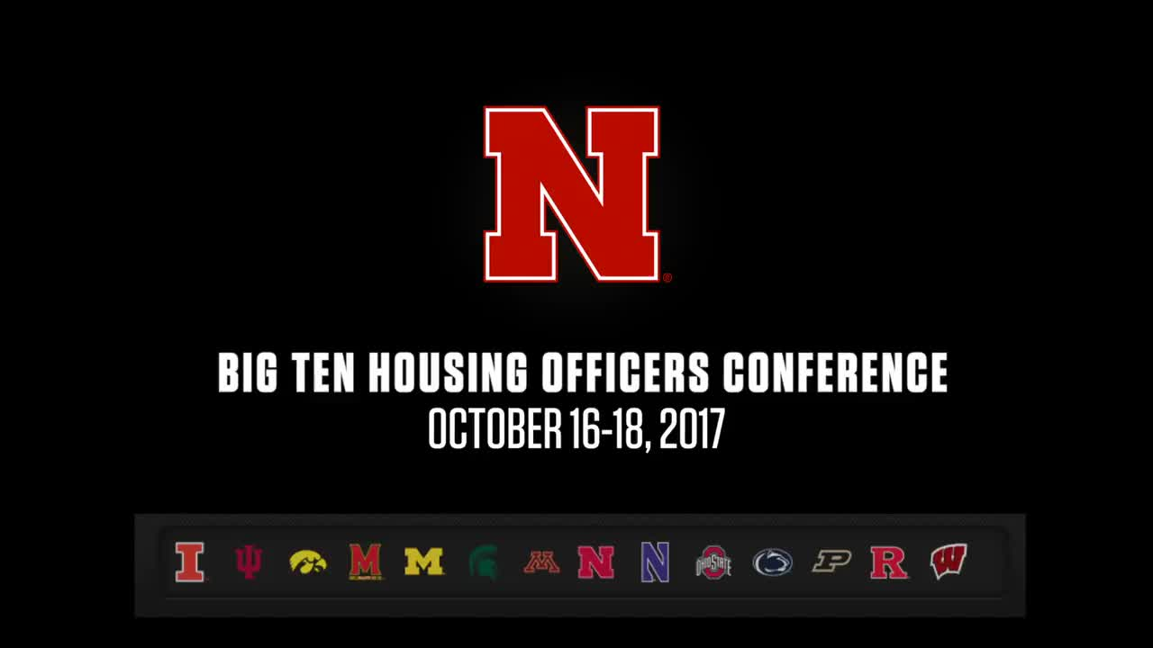 Big Ten Housing Officers Conference in Nebraska