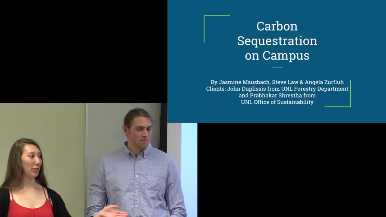 Carbon Sequestration on Campus
