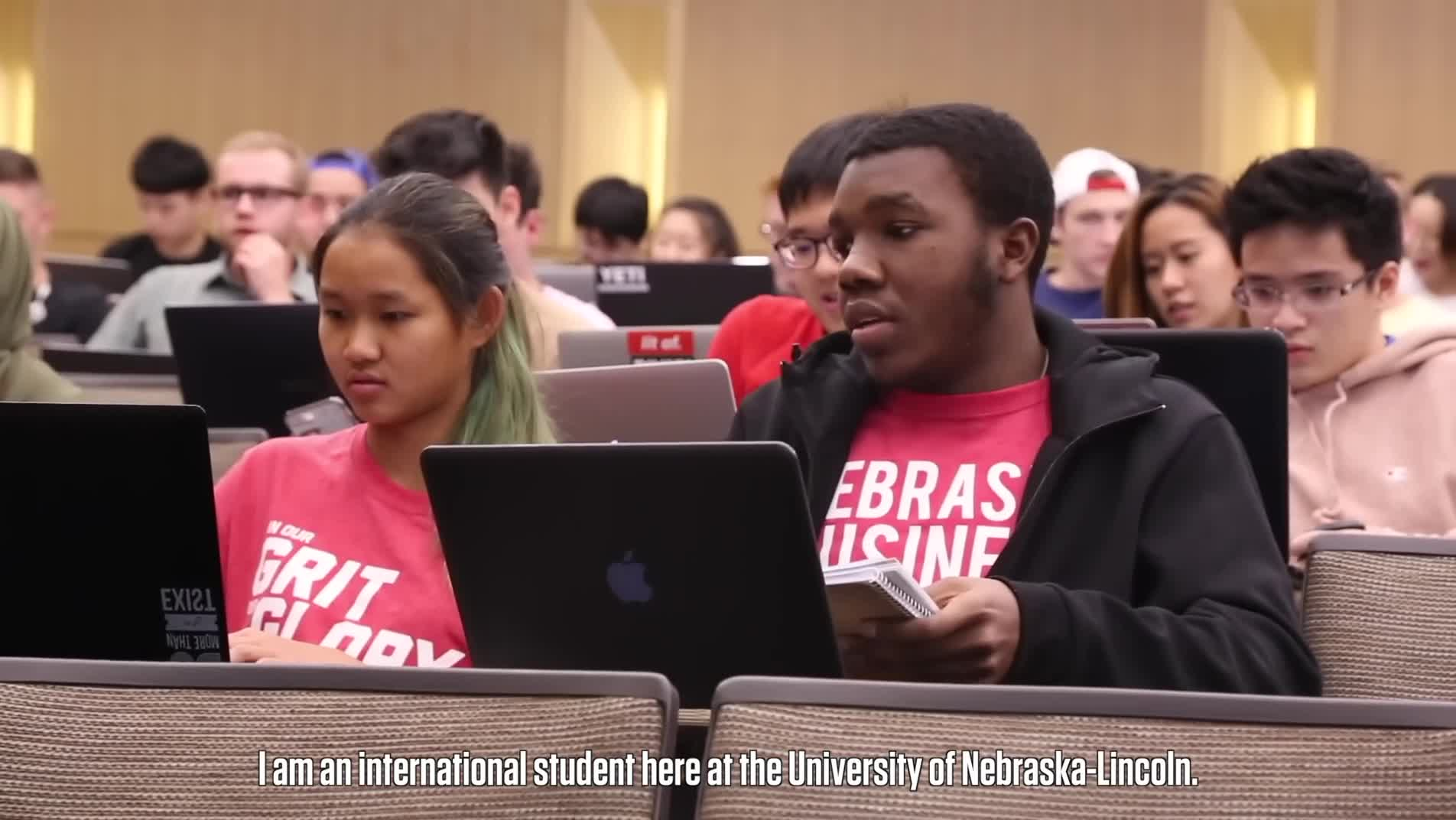International Students at the College of Business: Quincey