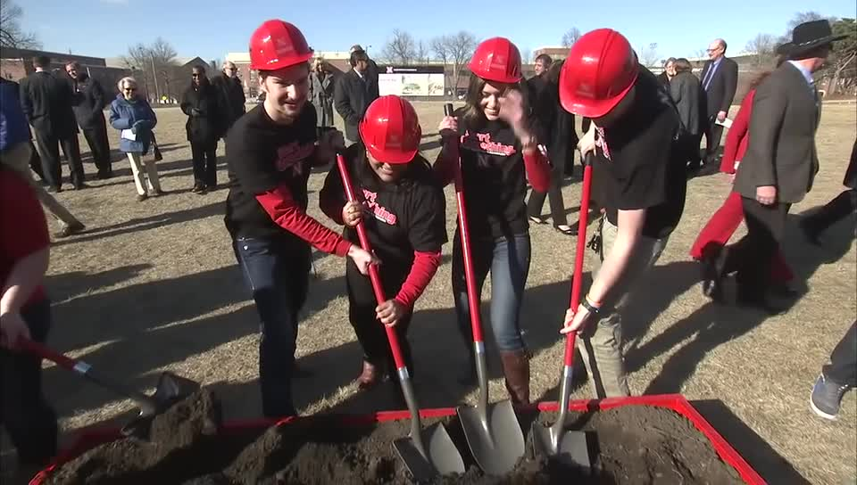 Groundbreaking for College of Business