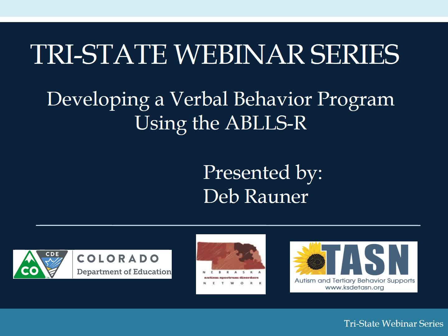 Developing a Verbal Behavior Program with the ABLLS-R