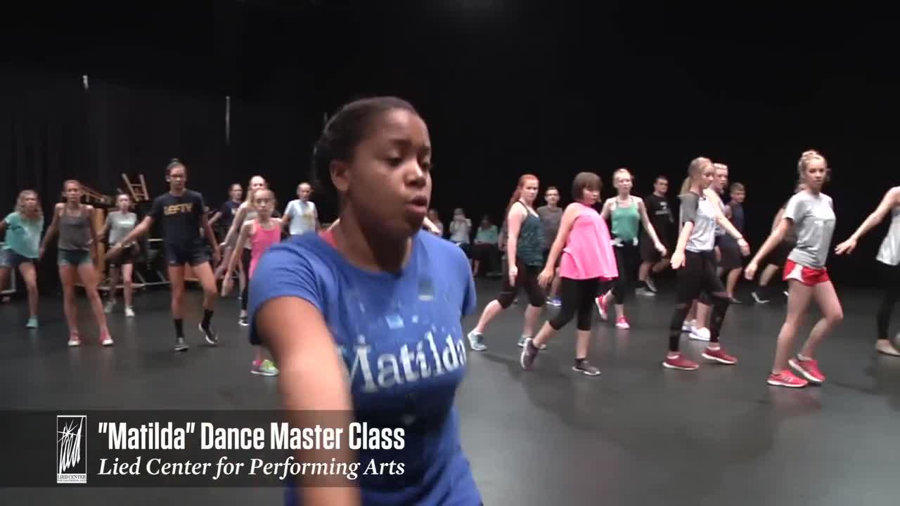 Matilda Dance Master Class