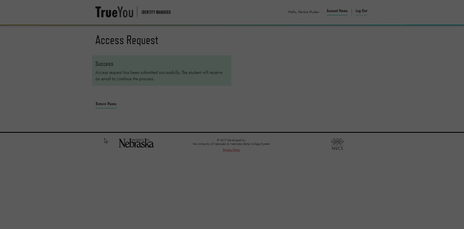 Step 2.2: Request Access