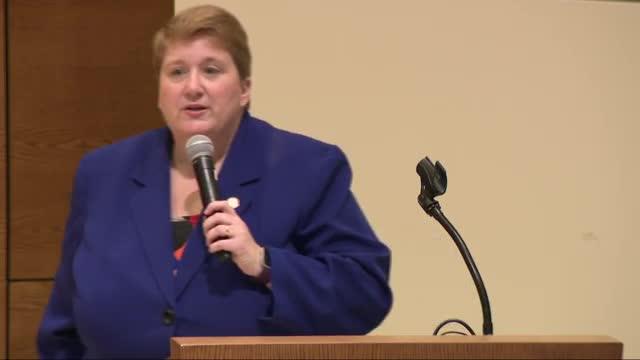 Criminal Justice Lecture--Senator Laura Ebke, Chair Judiciary Committee, NE