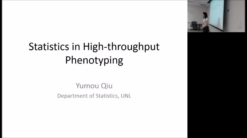 """Statistic Problems in Plant Phenotyping"" and ""Functional analysis on Curve Fitting"""