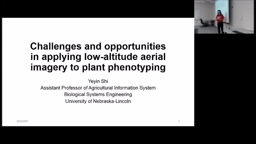 """Challenges and opportunities in applying low-altitude aerial imagery to plant phenotyping"""
