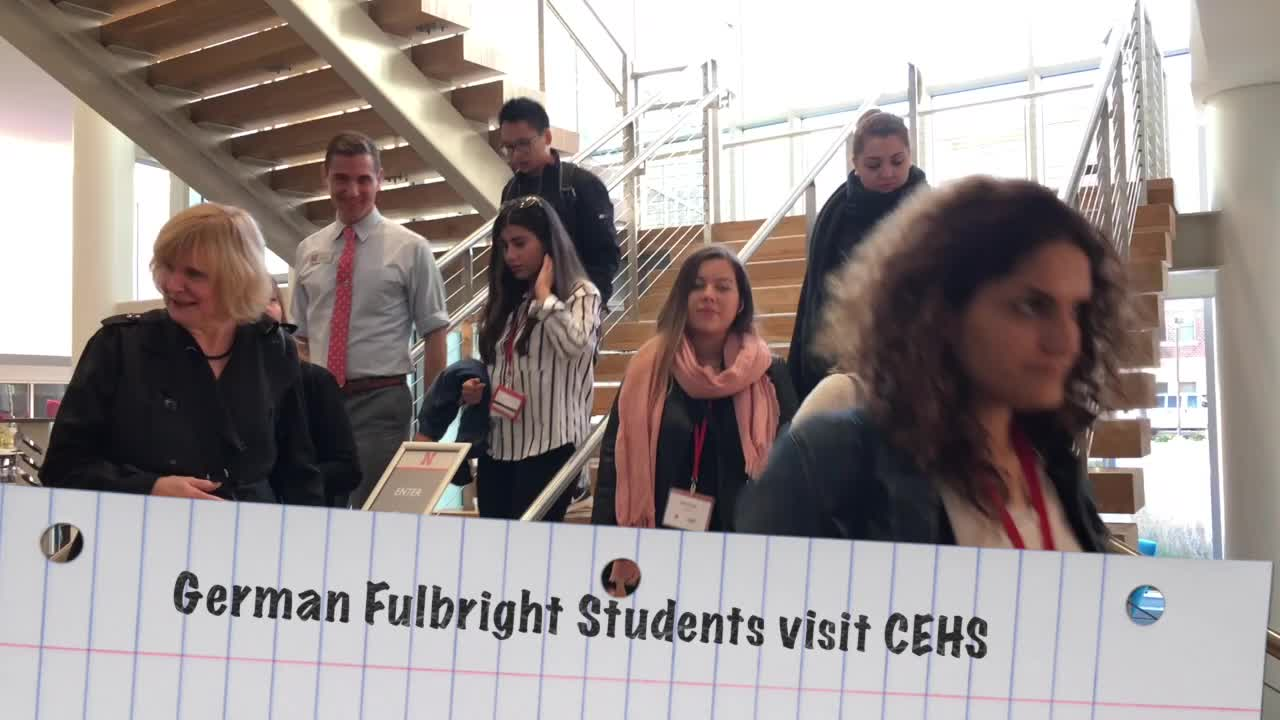 German Fulbright Visit