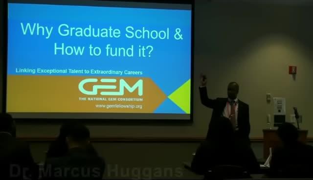 2017 MATC Scholars Program: Dr. Marcus Huggans