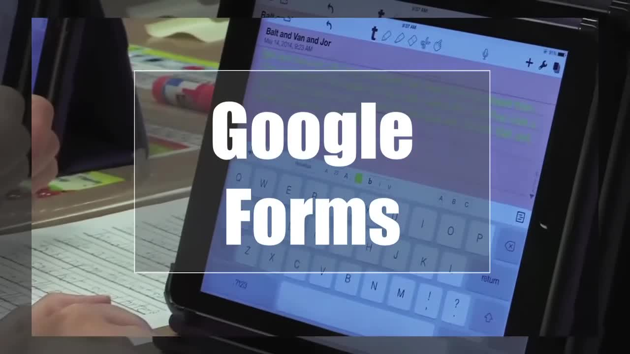 Tech Edge, Mobile Learning In The Classroom - Episode 69, Google Forms