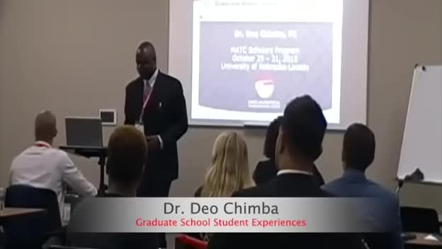 2015 MATC Scholars Program: Dr. Deo Chimba