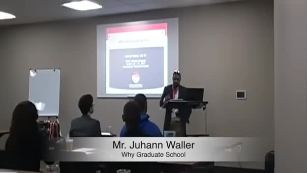2015 MATC Scholars Program: Mr. Juhann Waller