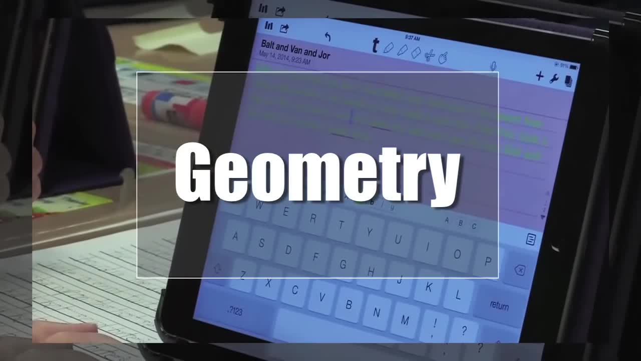 Tech Edge, Mobile Learning In The Classroom - Episode 71, Geometry