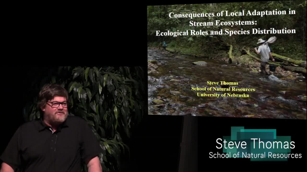 The consequences of local adaptation in stream ecosystems: ecological roles and species distributions