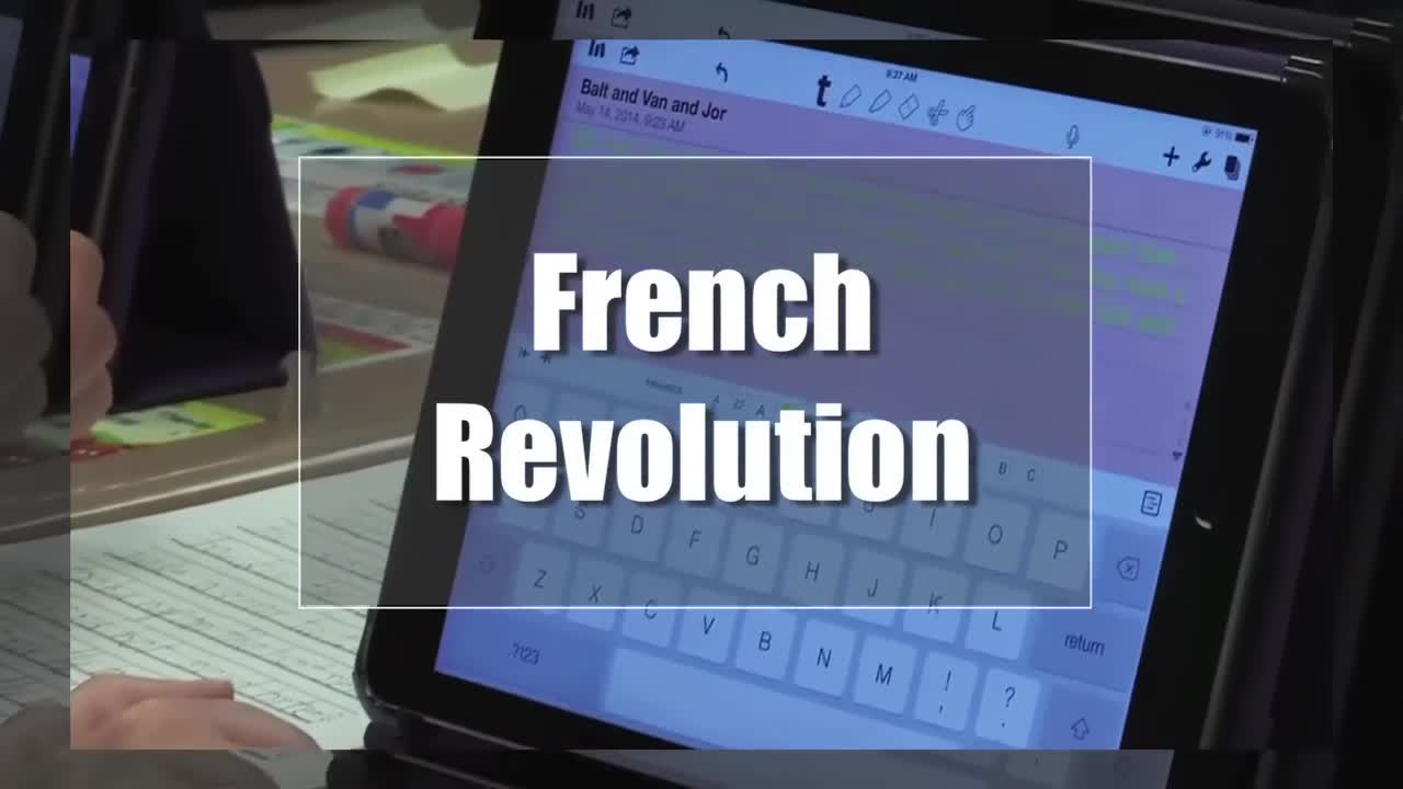 Tech Edge, Mobile Learning In The Classroom - Episode 73, French Revolution