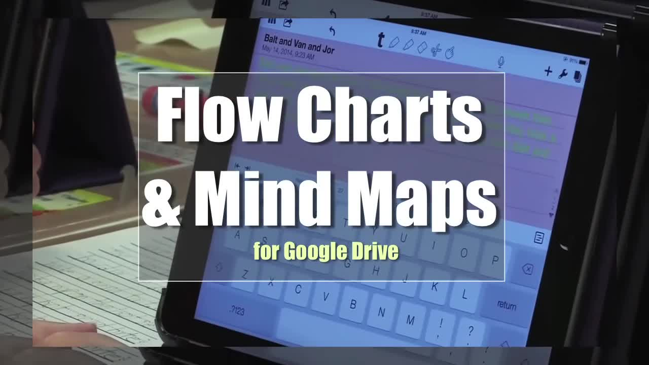 Tech Edge, Mobile Learning In The Classroom - Episode 74, Flow Charts & Mind Maps for Google Drive