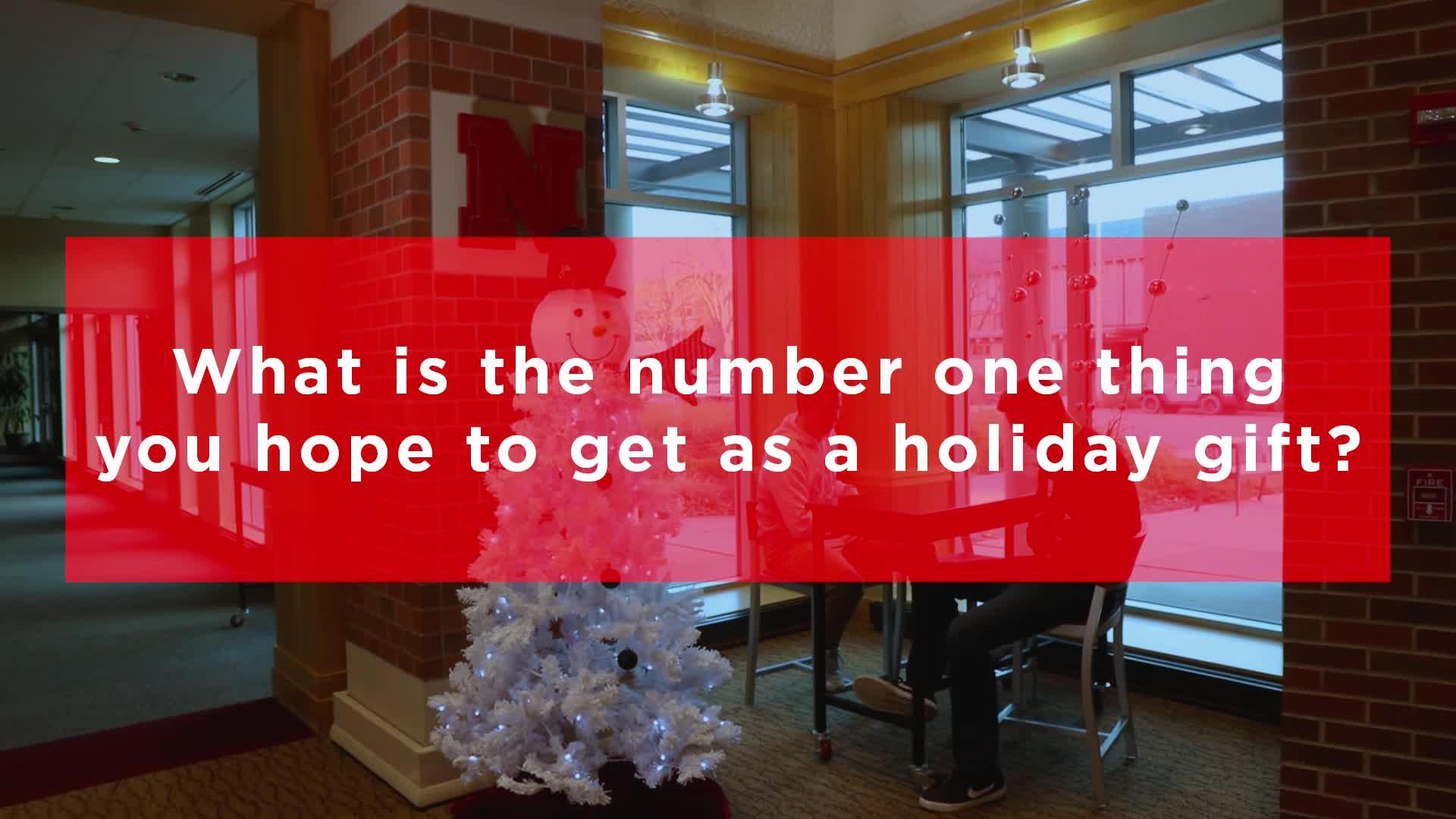 Ask Husker Freshmen: Holiday Gift