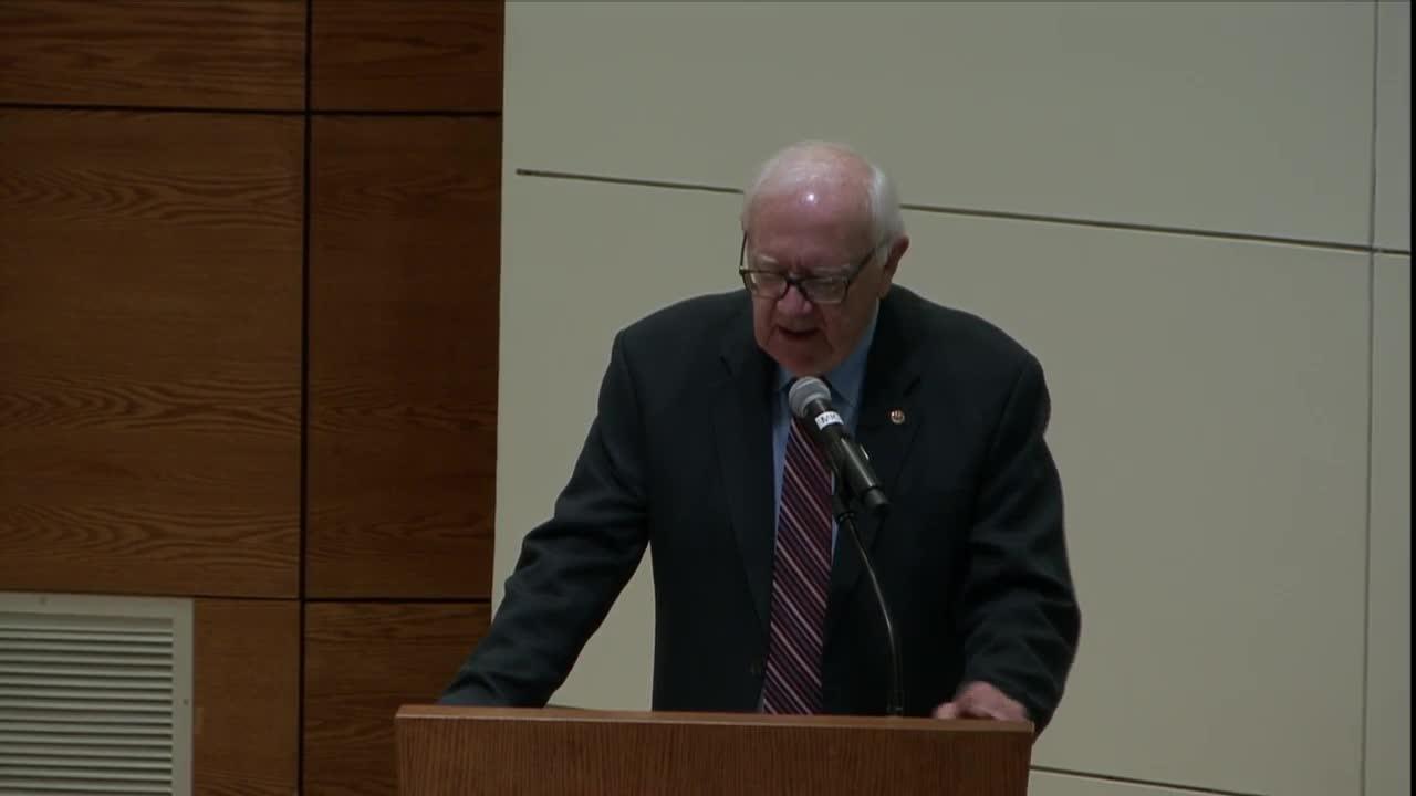 Dr. Marty Scholtz Public Presentation