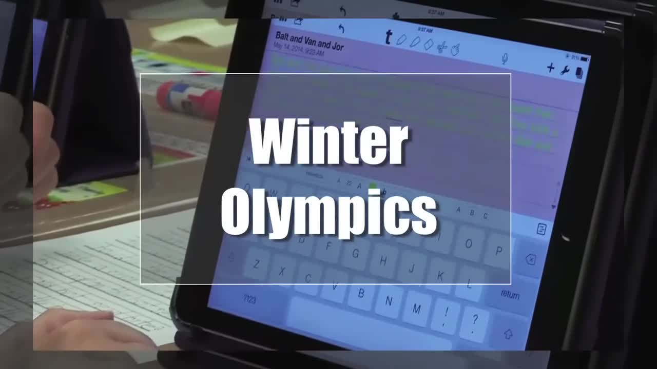 Tech Edge, Mobile Learning In The Classroom - Episode 76, Winter Olympics