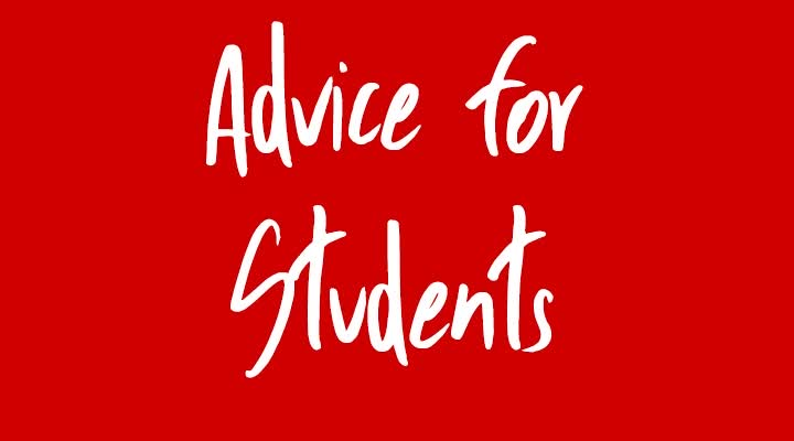 Larry Van Tassell's Advice for Students