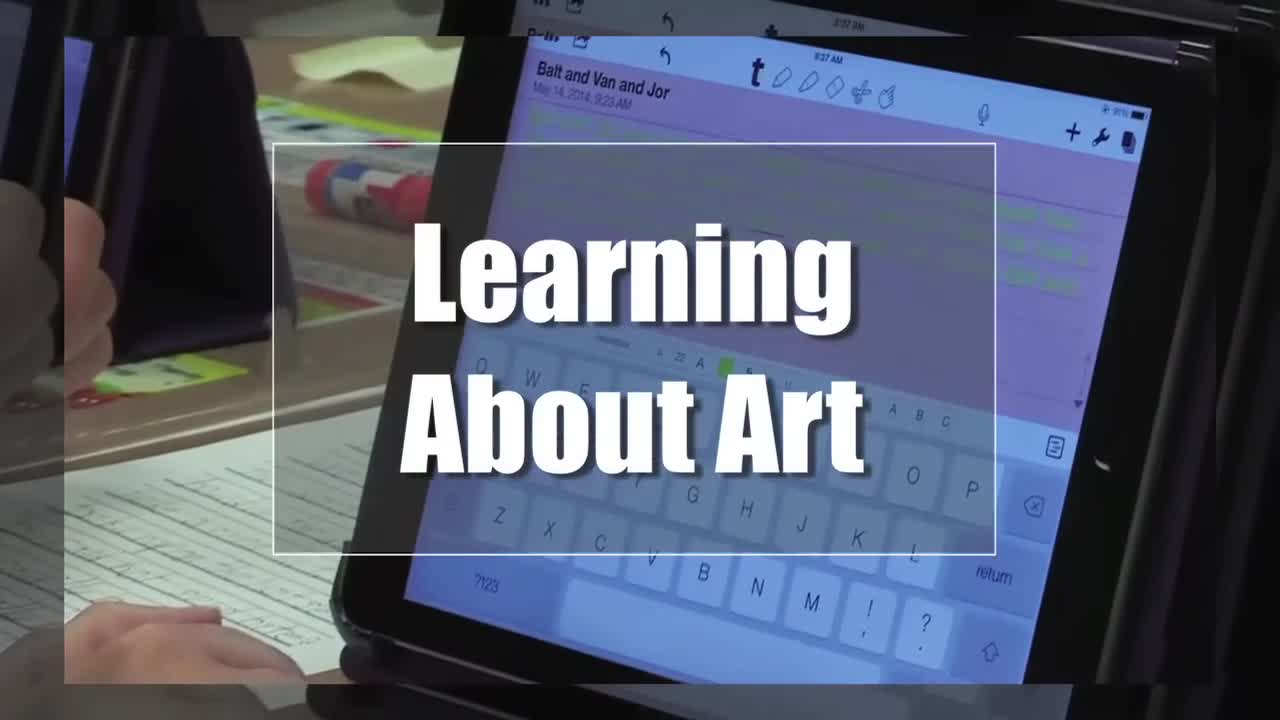 Tech Edge, Mobile Learning In The Classroom - Episode 78, Learning About Art