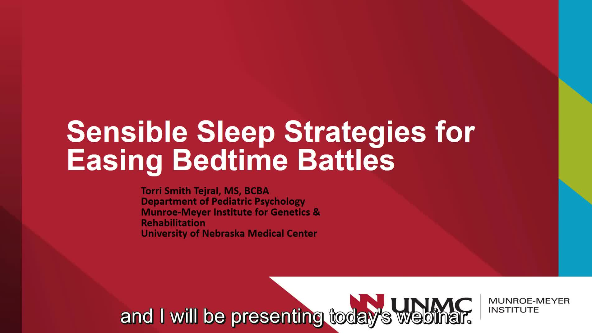 Sensible Sleep Strategies