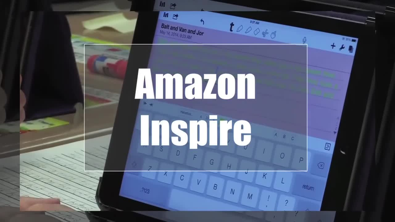 Tech Edge, Mobile Learning In The Classroom - Episode 79, Amazon Inspire