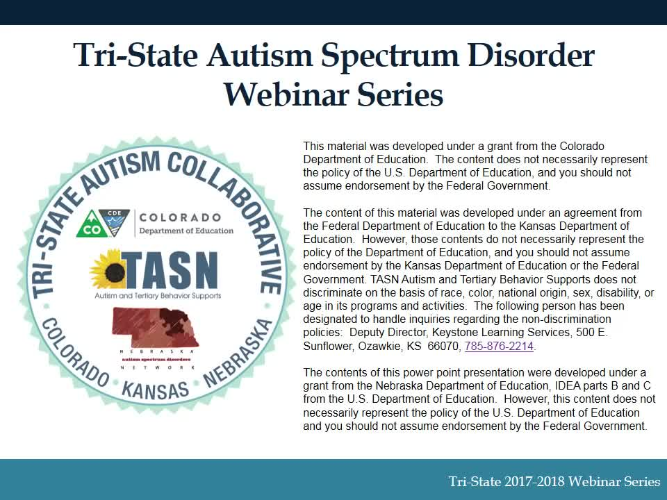 Autism Spectrum Disorder and Females
