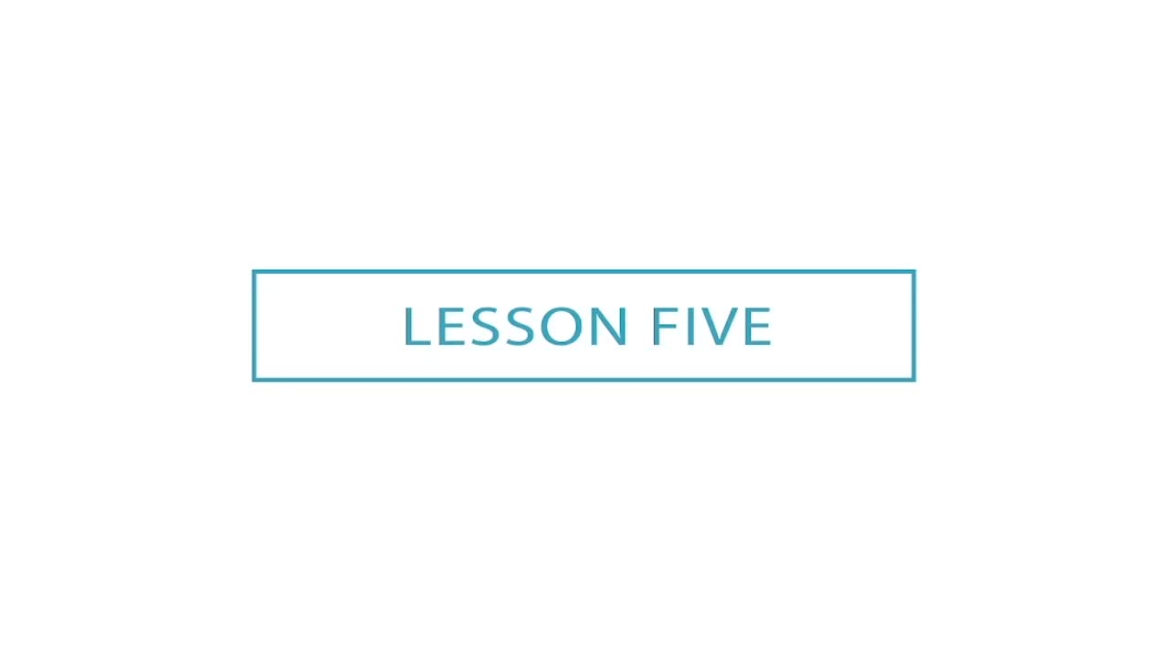 Early Childhood Music Lessons - Module 4 - Video 15 - Music Time - Lesson Five