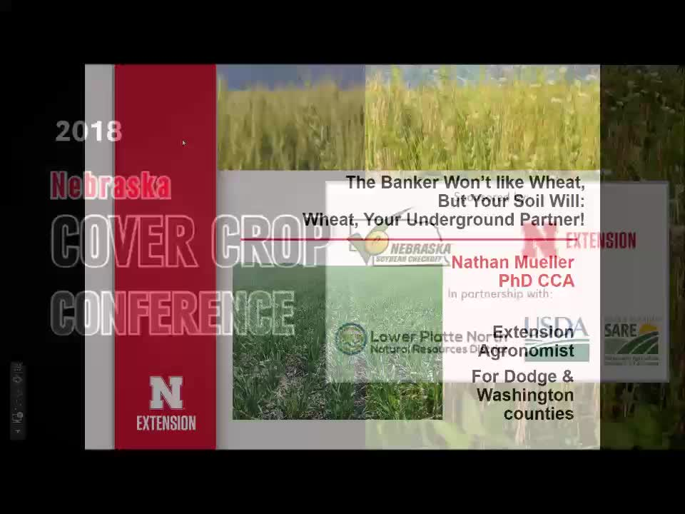 2018 Nebraska Cover Crop Conference - Segment 1 -  Nathan Mueller and Justin McMechan