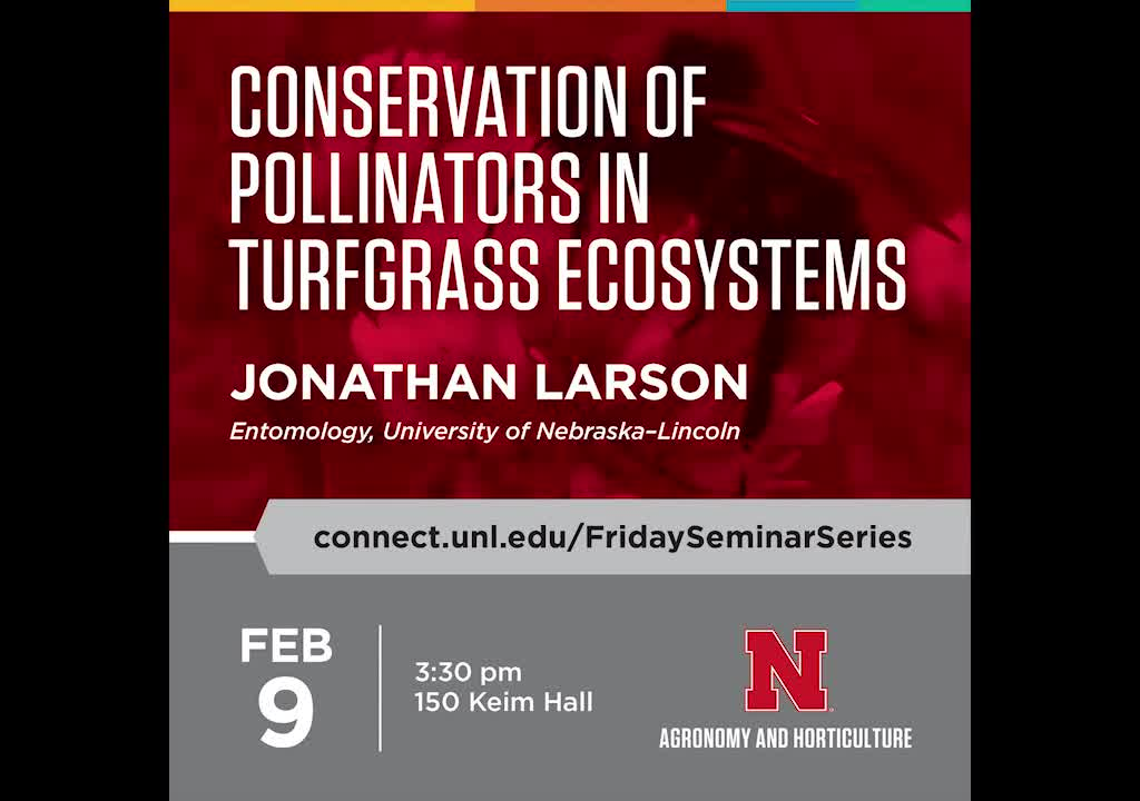 Conservation of pollinators in turfgrass ecosystems
