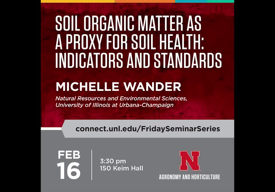Soil organic matter as a proxy for soil health: Indicators and standards