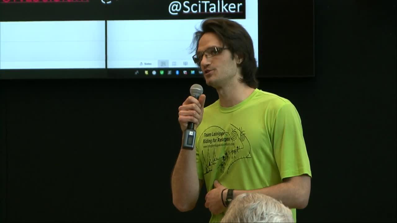 Science Slam: Karl Ahrendsen