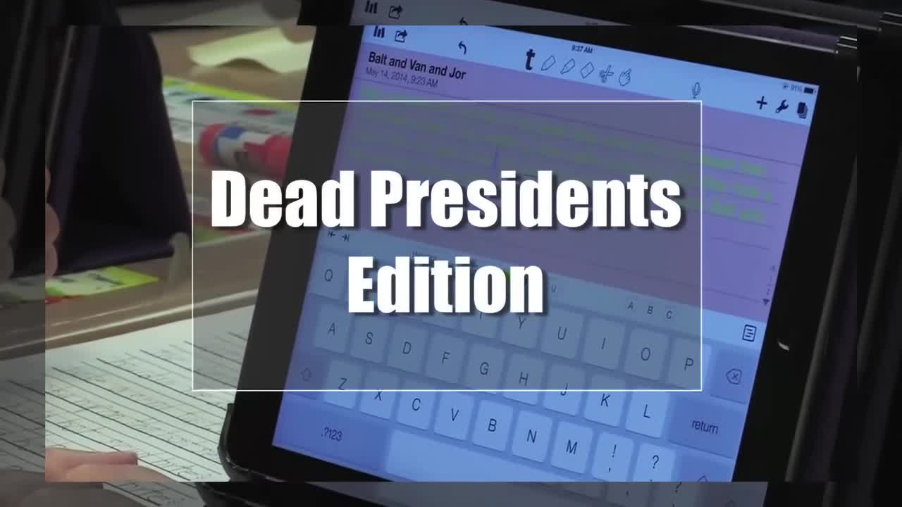 Tech Edge, Mobile Learning In The Classroom - Episode 82, Dead Presidents Edition